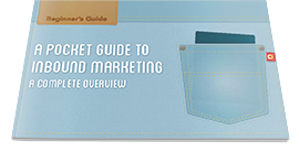 Cover image of the Pocket Guide to Inbound Marketing