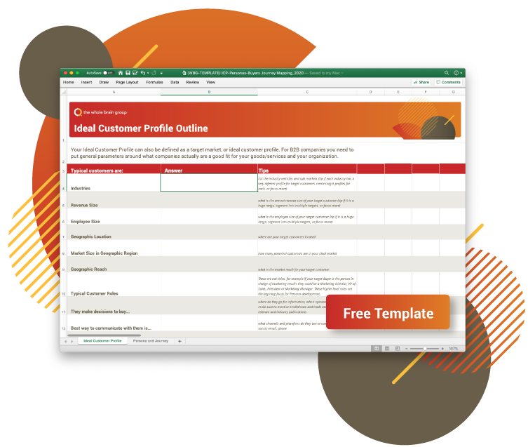 ICP and Persona Templates